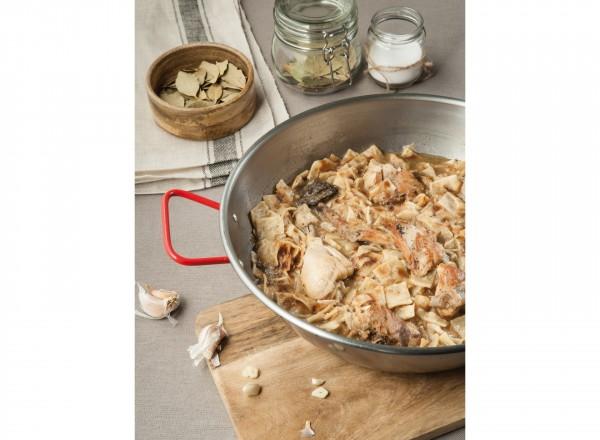 Deksel voor paella pan 36 cm met paella