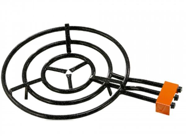 Paella brander 60 cm & Standaard voor buiten (gekoppelde poten) brander