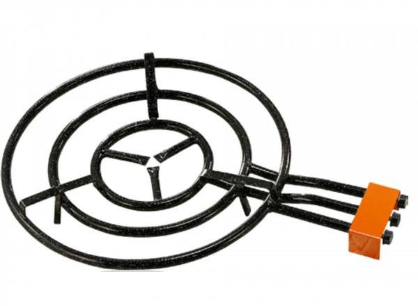 Paella brander 70 cm & Standaard voor buiten (gekoppelde poten) brander
