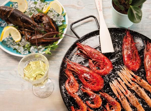 Pata Negra paella pan 32 cm - 2-3 pers. | Professional met paella