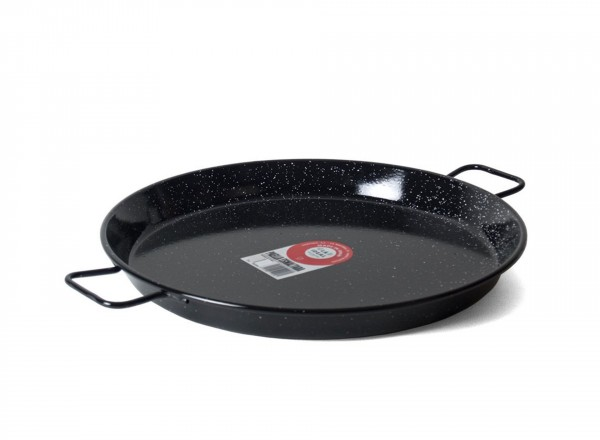 Paella pan emaille 50 cm - 12-14 pers.