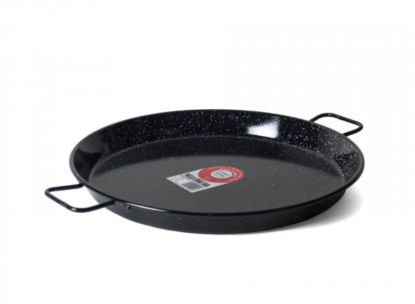 Paella pan emaille 60 cm - 20 pers.