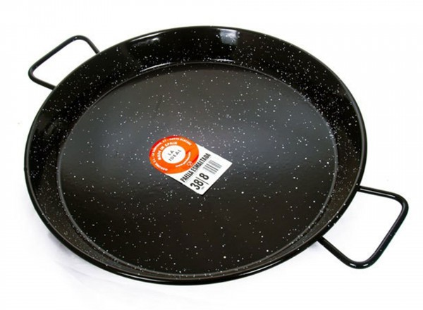 Paella pan emaille 60 cm - 20 personen