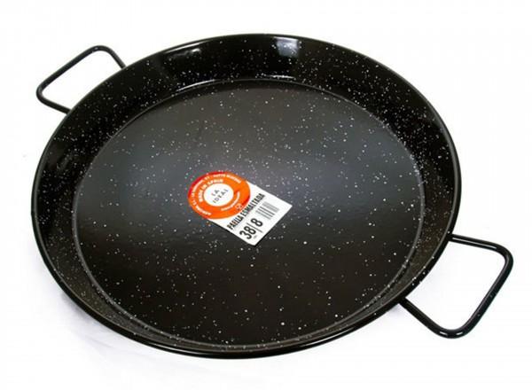 Paella pan emaille 70 cm - voor 30 personen