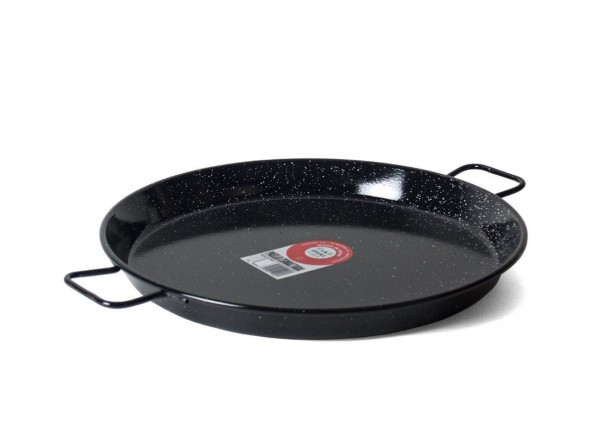 Paella pan emaille 80 cm - 40 pers.