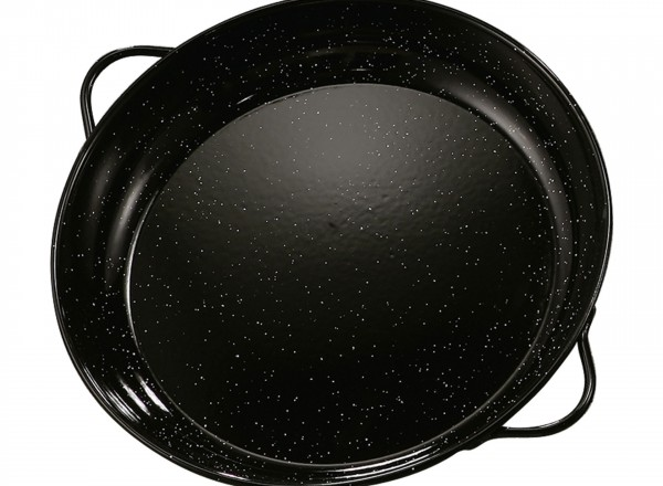 Paella pan emaille 36 cm - 4-8 pers.