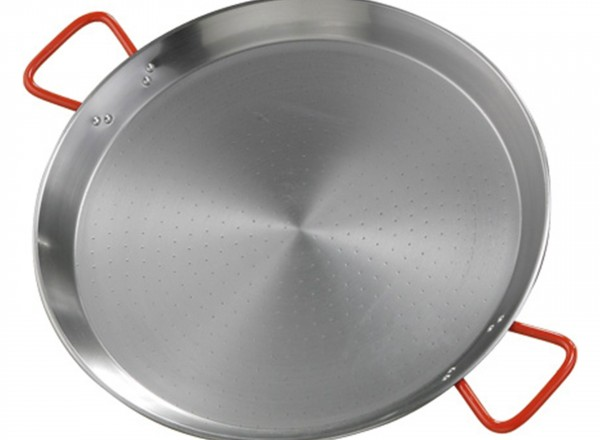 Paella pan staal 40 cm - 6-12 pers.
