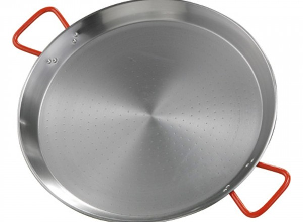 Paella pan staal 46 cm - 8-14 pers.