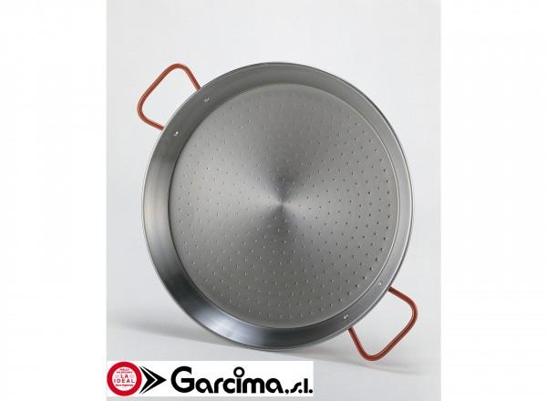Paella pan staal 46 cm - 8-14 pers. pan