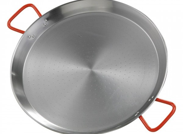 Paella pan staal 60 cm - 16-20 pers.