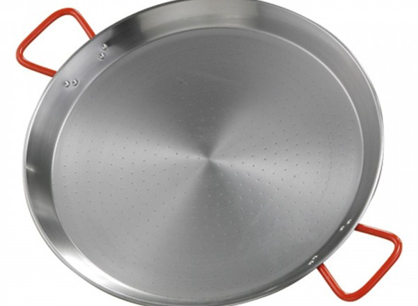 Paella pan staal 70 cm - 22-26 pers.