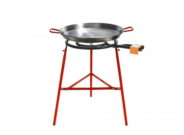 Paella brander 50 cm met paellapan