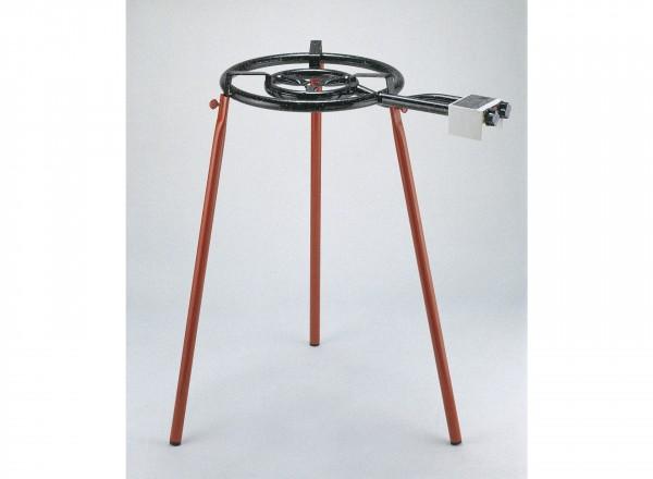 Paella brander 40 cm & Standaard voor buiten (3 losse poten)