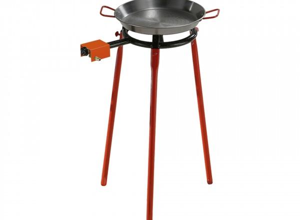 Paella brander 30 cm & Standaard voor buiten (3 losse poten)