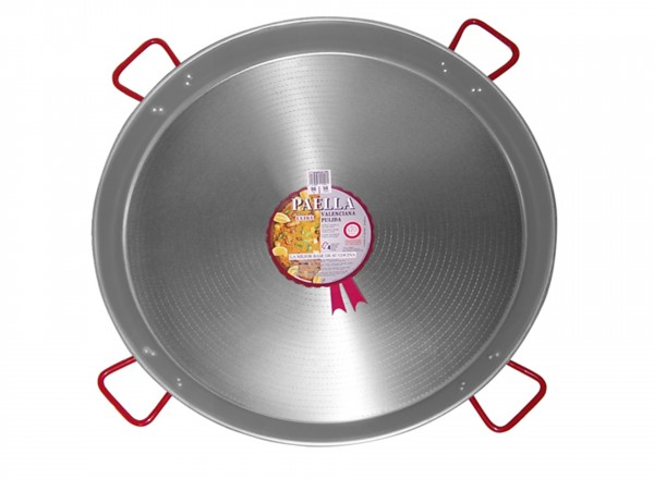 Paella pan staal 90 cm - 50 pers.