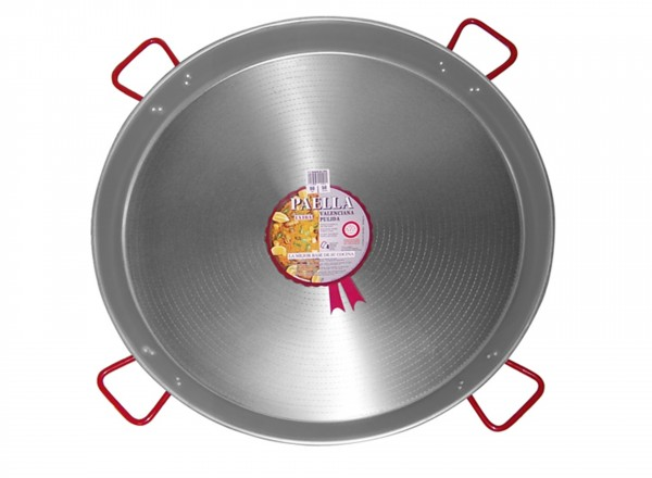 Paella pan staal 115 cm - 120 pers.