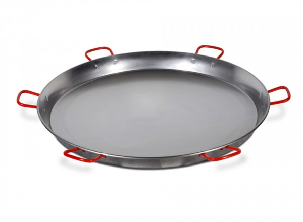 Paella pan staal 130 cm - 200 pers.