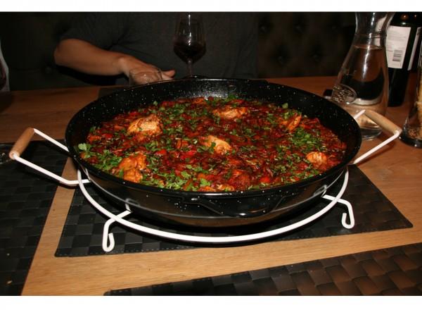 Onderzetter voor paella pan | Deluxe paella