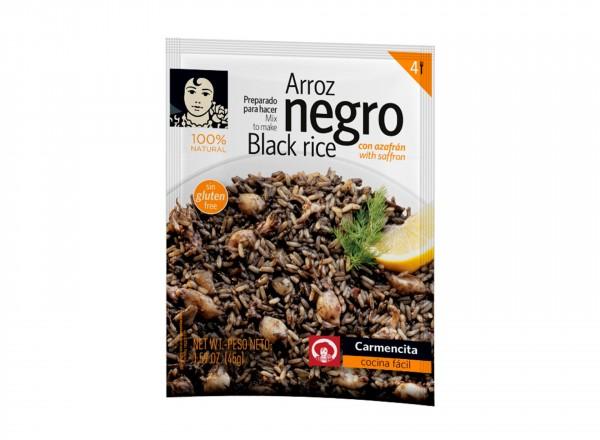 Zwarte rijst | Arroz negro kruiden - 4 porties | Carmencita