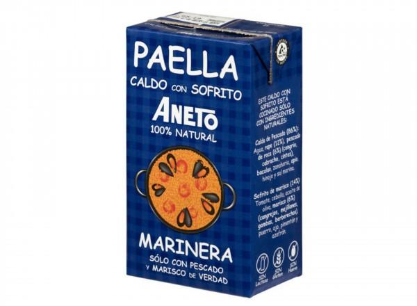 Aneto bouillon voor Paella met zeevruchten
